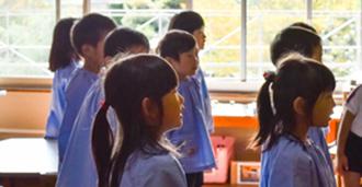 幼稚園は子どもが初めて出会う学校です。